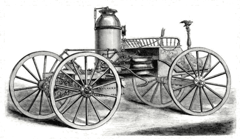 Steam powered auto